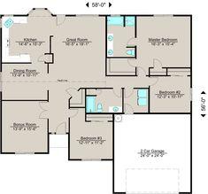 Lexar Homes 1616 Floor Plan Lexar Homes Floor Plans