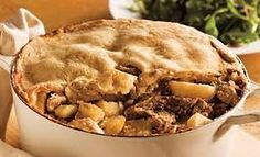 Cipaille - A layered meat pie, traditional to French Canadian culture. Also known as six-pates or sea-pie! Canadian Dishes, Canadian Food, Canadian Recipes, Canadian Culture, Meatball Recipes, Beef Recipes, Cooking Recipes, Beef Meals, Watermelon Recipes