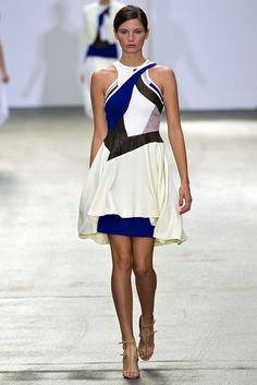 Antonio Berardi Spring 2013 Ready-to-Wear Fashion Show - Ava Smith