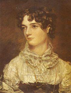 John Constable - Retrato de Maria Bicknell, 1816