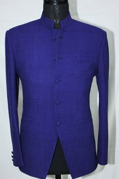Navy Blue Fine Cut Jacket