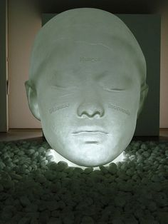 In the Midst of Dreams, 2009 - Jaume Plensa at the YSP - photo by Nigel Homer