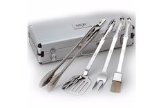 All-Clad 4pc BBQ Tool Set w/ Case | Bloomingdale's