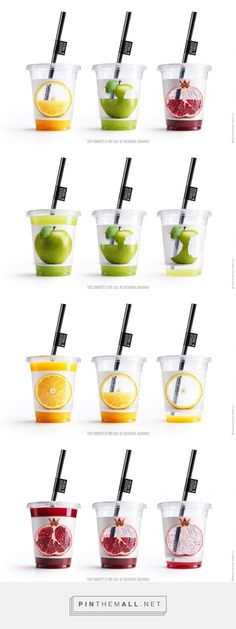 This type of cup is very symbolic of fresh juices. This could used in a similar…
