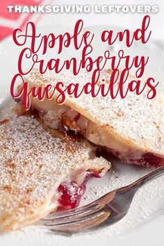 Vegetarian Comfort Food, Vegetarian Desserts, Healthy Dessert Recipes, Thanksgiving Leftovers, Thanksgiving Recipes, Cranberry Dessert, Fun Fruit, Food Experiments, Breakfast Dessert