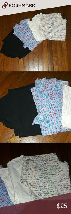 Lot of Scrub Tops All size small, all short sleeve. The 2nd to the left is a jacket. Tops Tees - Short Sleeve