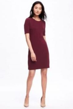 Stylish Business Outfits For Tall Women 28 Business Outfits, Business Attire, White Shift Dresses, Dresses For Work, Dress Work, Clothing For Tall Women, Clothes For Women, Work Clothes, Stretch Dress