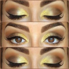 Do the YELLOW you BROWN EYED BEAUTY. *I'll bet you with the green eyes would look fab too.