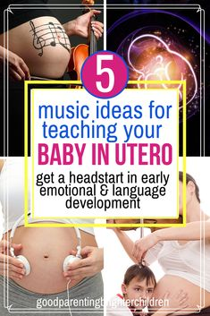 Did you know that playing classical music for babies in the womb will increase their speech and language skills, memory skills & more? Here are 5 suggestions, & steps to playing music for babies in the womb. Music Activities For Kids, Brain Activities, Music For Kids, Kindergarten Activities, Infant Activities, Kids Learning, Baby In Womb, Music And The Brain, Before Baby
