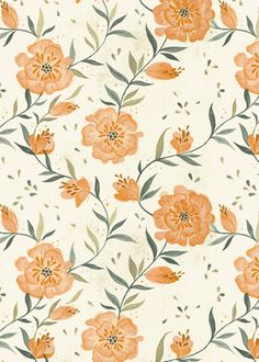 August Florals Art Print