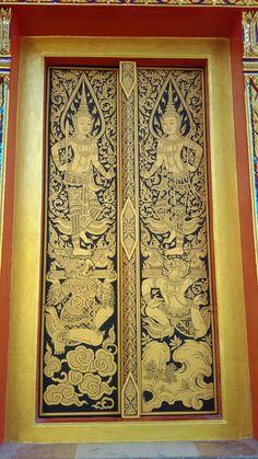 Japanese Tiger Tattoo, Thailand Art, Religious Architecture, Thai Art, Thai Style, Traditional Art, Buddhism, Temples, Poker