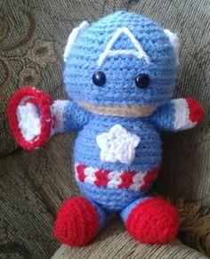 Capitan América #amigurumi #amigurumis #muñecostejidos #crochet #lana #tejido #tejiendo #tejidoamano #tejidocrochet #tejidos #capitanamerica #capitanamericaamigurumi #superheroes #pelicula #muñecostejidosjoni #hechoamano #Ecuador #Quito