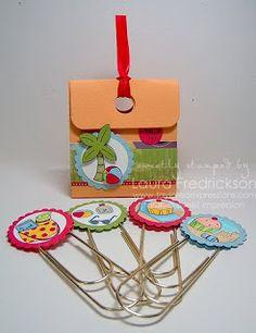 Stamp a Sweet Impression: A Quick Teacher Gift