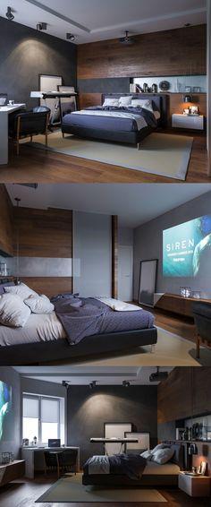 ЖК Ривьера, спальня - Галерея 3ddd.ru