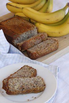 Guilt free Banana Bread (gluten & dairy free).  www.five-forks.blogspot.com.au