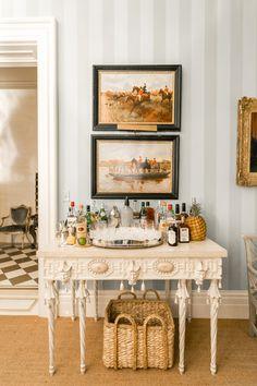 Patricia Altschul's Home in Charleston Home + Design - The Glam Pad