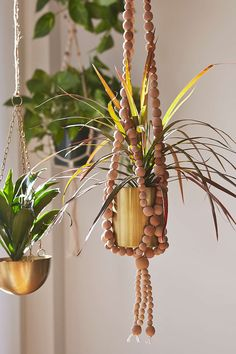 Sienna Beaded Hanging Planter