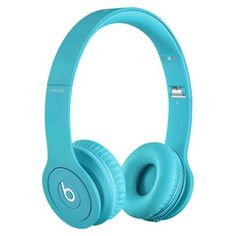 Beats Solo® HD Drenched in Light Blue. Everything about these are perfect I want them !!!! I put them on at target and they were amazing .. Love the colour and only $200