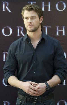 The Avengers was the big Blockbuster of the weekend...tell us what type you think Chris Hemsworth (Thor) is.