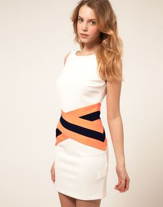Fluro Band Dress