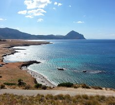 The sea and beach in #Castelluzzo #Trapani #Sicily
