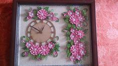 Quilled Clock