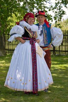 Strój hanacki: Folk Costume, Costumes, Folk Clothing, World Of Color, Fashion History, Celtic, The Past, Colours, European Countries