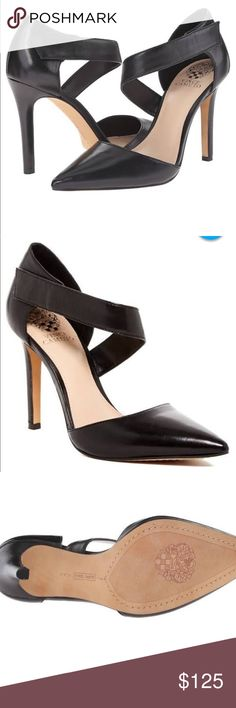 """Vince Camuto high heels Beautiful Vince Camuto 4"""" high heels. These are a true size 11 and worth every penny. Brand new. Never worn. Vince Camuto Shoes Heels"""