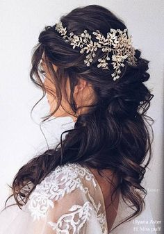 Wedding Hairstyles : Illustration Description Ulyana Aster Long Wedding Hairstyles - #Hairstyle
