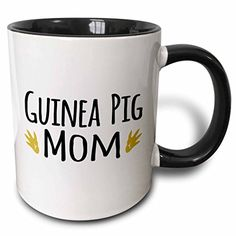 3dRose mug_154048_4 Guinea Pig Mom for Pet Owners Cavy Rodent Family Pets with Brown Paw Prints Footprints Two Tone Black Mug, 11 oz, Black/White 3dRose http://www.amazon.com/dp/B013OC5A0K/ref=cm_sw_r_pi_dp_iATQwb159Y76W