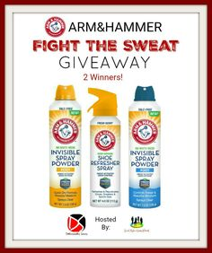 ARM&HAMMER Fight The Sweat Giveaway