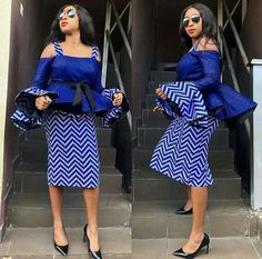 Mesmerising, Trendy and Stylish Ankara Skirt and Blouse Styles for Pretty Ladies.Mesmerising, Trendy and Stylish Ankara Skirt and Blouse Styles for Pretty Ladies African Fashion Designers, Latest African Fashion Dresses, African Print Dresses, African Print Fashion, Africa Fashion, African Dress, African Prints, Ankara Fashion, African Attire