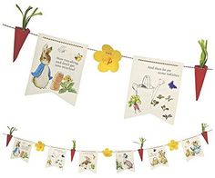 Meri Meri Party Garlands Peter Rabbit * To view further for this item, visit the image link.