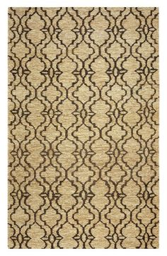Rizzy Home 'Whittier Double Wave' Handwoven Jute Area Rug Trellis Rug, Farmhouse Rugs, Natural Area Rugs, Traditional Area Rugs, Contemporary Area Rugs, Patterned Carpet, Carpet Design, Clean Design, Throw Rugs