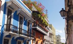 Love the colonial architecture of my Old San Juan, Puerto Rico Oh The Places You'll Go, Places Ive Been, Beautiful Islands, Beautiful Places, San Juan Puerto Rico, Last Minute Travel, The Good Place, Travel Destinations, Around The Worlds
