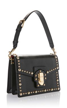 Studded Iguana Leather Top Handle Bag by Dolce     Moda Operandi Chanel  Purse, Womens c7ab436254
