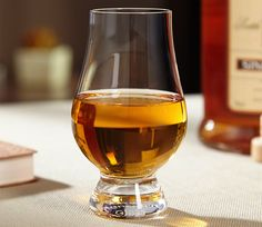 A specially designed tasting glass, engineered to bring out the richness of scotch, bourbon, and any complex spirit.