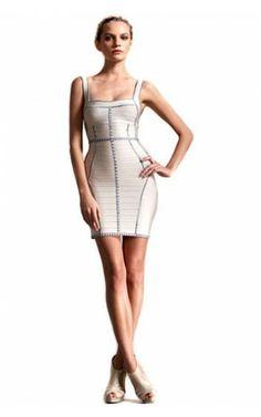 Herve Leger Side Panel Cheap Bandage Dress