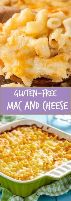 HOMEMADE GLUTEN FREE MAC AND CHEESE | Food And Cake Recipes