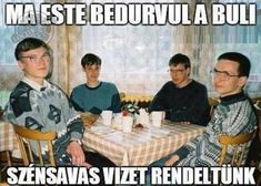 The image on which the so-called 'nerd party' meme is a photo taken at a science camp and mathematical Olympiad held in Zwardon, Poland in All four we Nerd Party, Yee Meme, You Funny, Funny Jokes, Funny Things, Rambo 3, Hymen, Weekend Humor, Alexa Skills