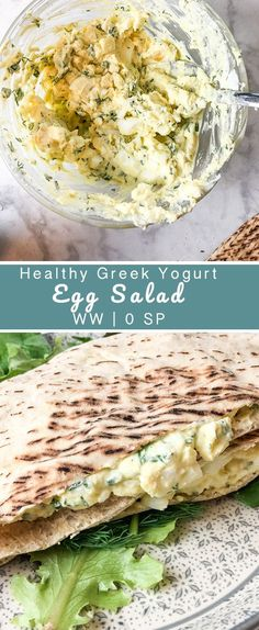 Healthy Greek Yogurt Egg Salad is 0 points and can be paired with a low point bread such as Village Hearth or a 1 point Josephs Pita 0 smart points 6 servings 14 cup Diabetic Snacks, Healthy Snacks For Diabetics, Healthy Cooking, Healthy Eating, Healthy Drinks, Healthy Egg Salad, Healthy Salad Recipes, Vegetarian Salad, Healthy Tips