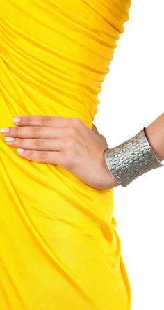 Wall textured cuff available only at Pernia's Pop-Up Shop.