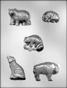 CK Products North American Animals Chocolate Mold -- Discover this special deal, click the image : Baking essentials