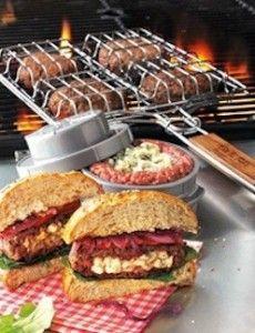 REJA PARA ASAR HAMBUERGUESAS SUR LA TABLE® $805.50 Kitchen & Gourmet by Stylo Shop