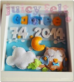 Juicy felt: Ricordi nascita
