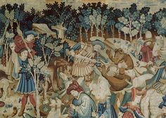 /\ /\ . Medieval tapestries - the most extensive collection of images I have ever seen in one spot.