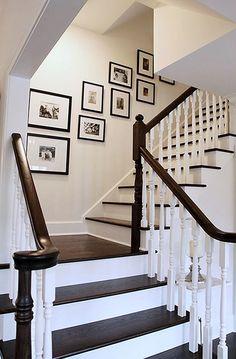 Awesome Modern Farmhouse Staircase Decor Ideas – Decorating Ideas - Home Decor Ideas and Tips - Page 13 House Design, New Homes, Staircase Decor, Interior Design, House, Staircase Design, Home, Interior, Home Decor