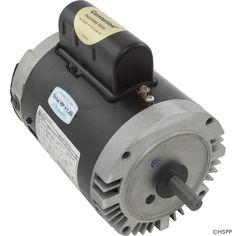 Motor, Century, 1.0hp, 115v/230v, 1-Spd, 56Cfr, C-Face Key