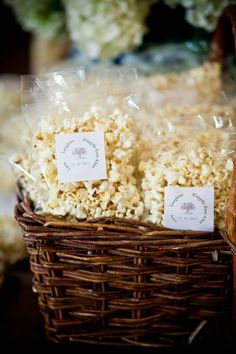 Everyone loves kettle corn! Wedding Snack Bar, Best Wedding Favors, Our Wedding, Dream Wedding, Wedding Ideas, Fall Wedding, Wedding Stuff, Wedding Inspiration, Perfect Popcorn
