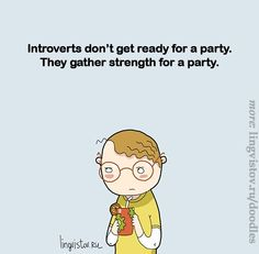 Accurate. #introvert